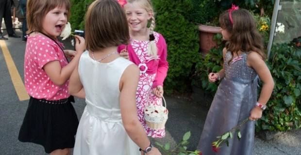Hochzeit, Hohzeitsfest mit Kindern?