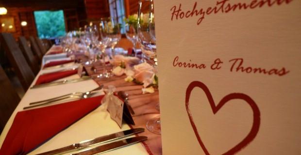 Tipps zur Sitzordnung an einem Hochzeitsfest